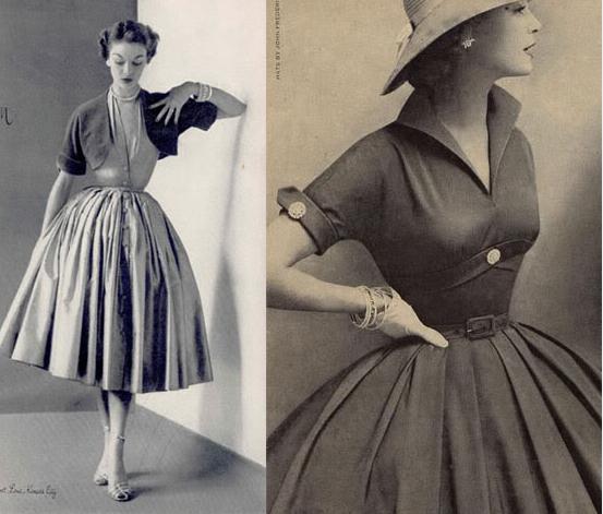 Mode Der 50Er Jahre Entscheidend Wurde Die 50Er Jahre