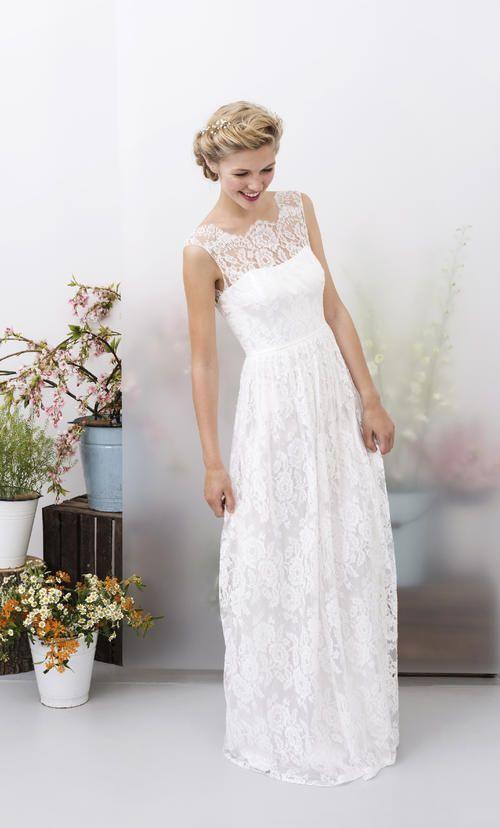 Modell Elsa  Kleider Hochzeit Brautmode Braut