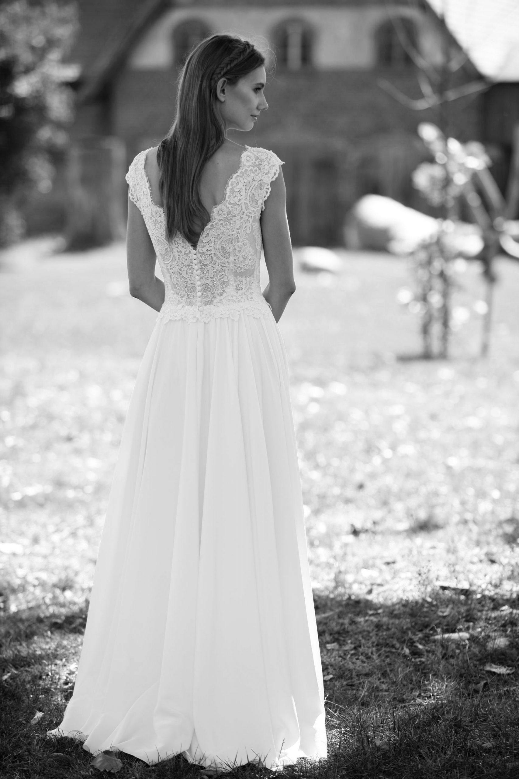 Modell Kira 827  Vintage Hochzeit Kleider Kleid