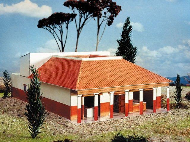 Modellbaukit Römische Villa  Celticwebmerchant
