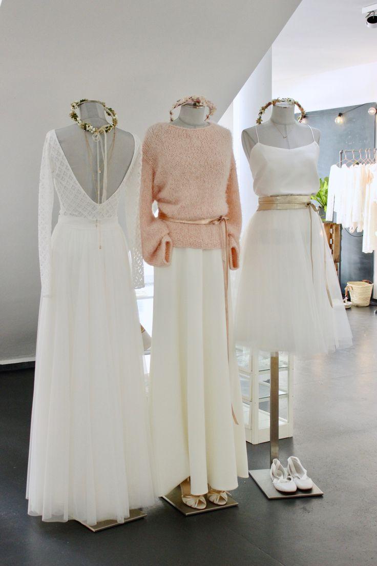 Moderne Brautkleider Für Die Hochzeit Im Winter
