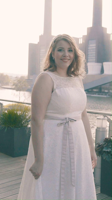 Moderne Brautkleider In Großen Größen  Das Perfekte Xxl