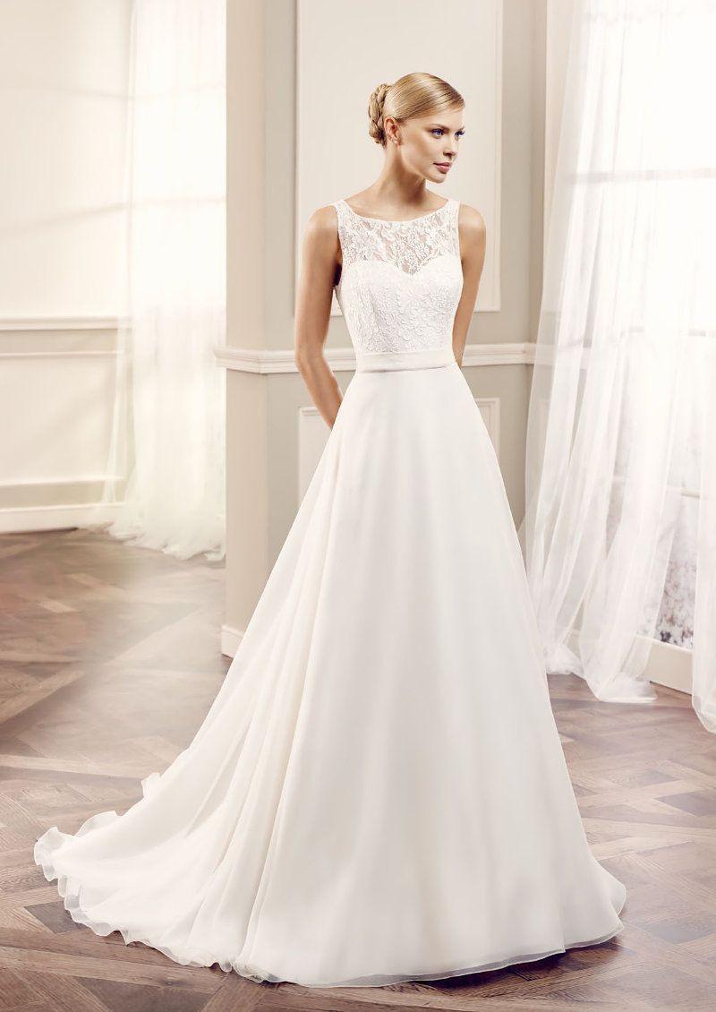Moderne Brautkleider Von Modeca Gehören Definitiv Zu