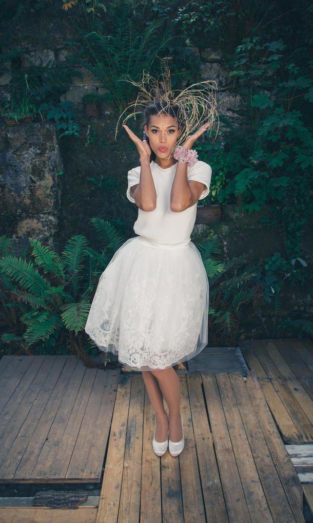 Modernes Standesamtkleid  Brautkleid Für Das Standesamt