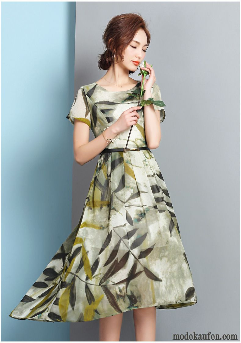 Modesommerkleider Lang Silber Online Shopping Kleidung