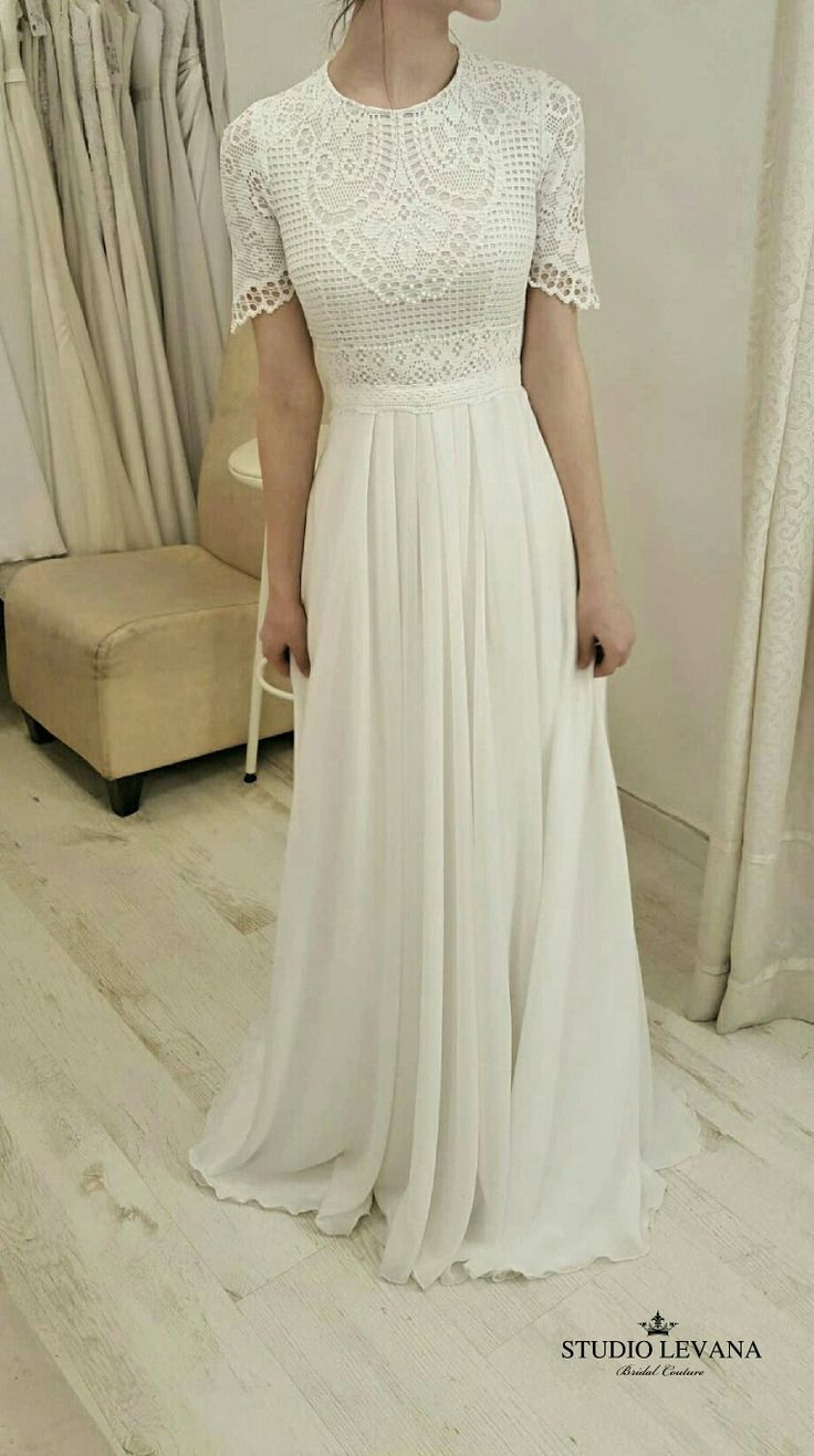 Modest Wedding Gownstudio Levana | Brautkleid Vintage
