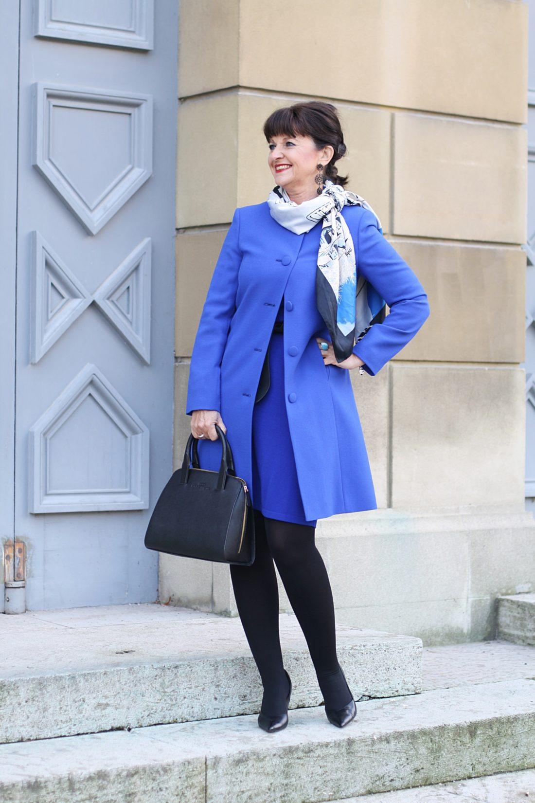 Modetipp  Lady Like Im Kleid Und Mantel  Extravanter