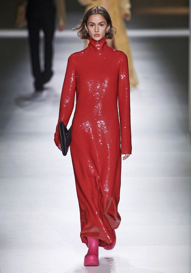 Modetrend Rote Kleider Für Den Großen Auftritt Im Winter 2020
