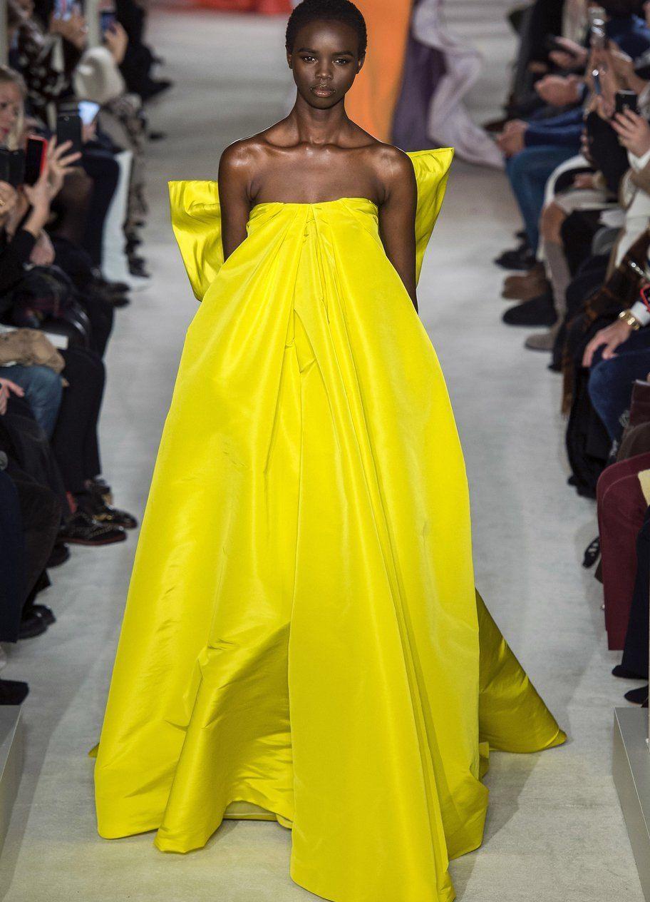 Modetrend Sommerkleider Erstrahlen 2019 In Gelb  Sommer
