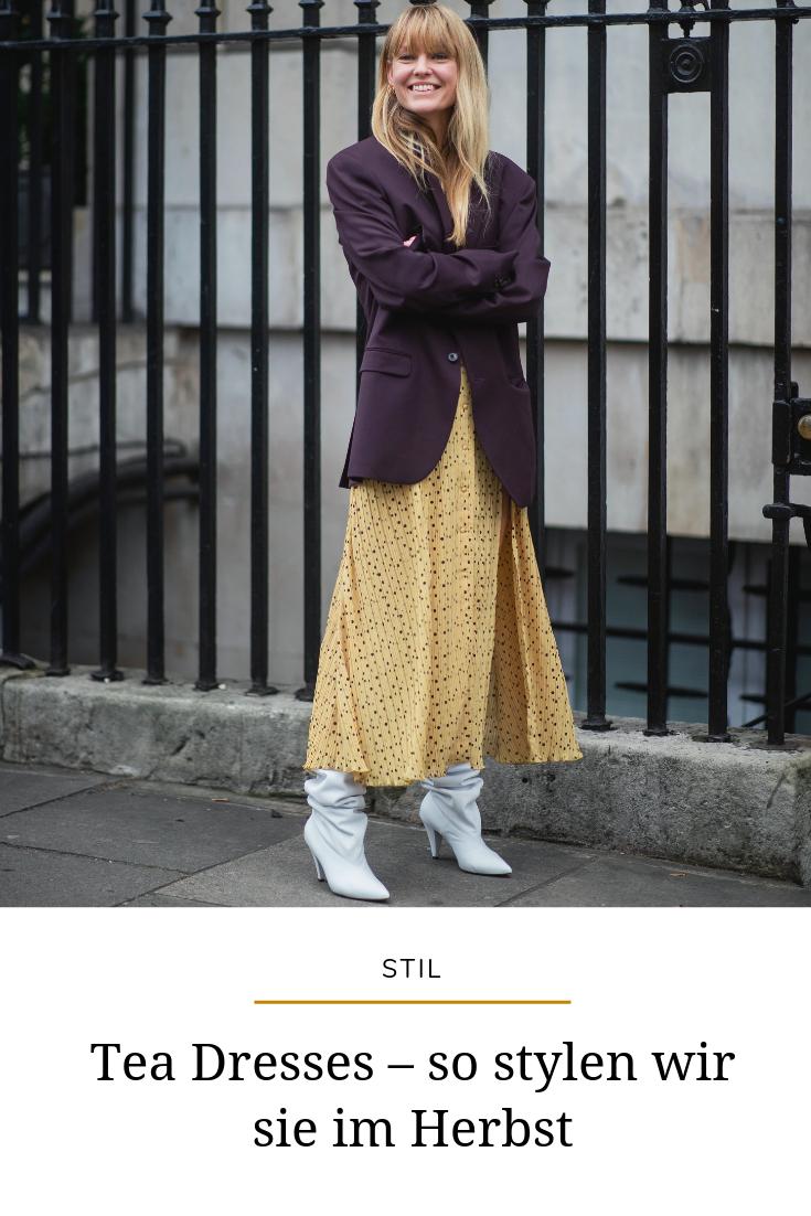 Modetrend Teekleider So Kombinieren Sie Tea Dresses Für