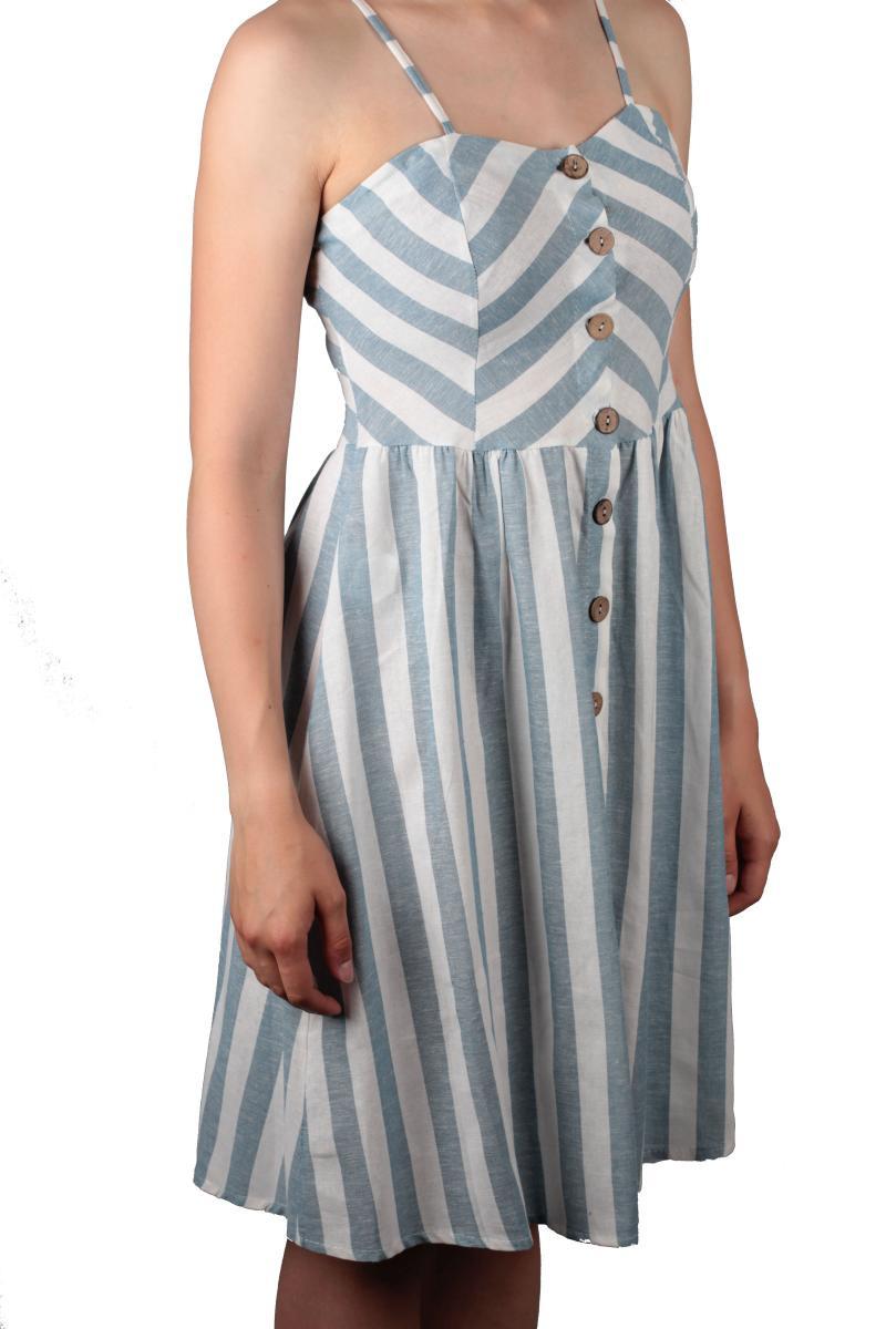 Modisches Kleid Aus Der Kollektion Von Hailys In Blau