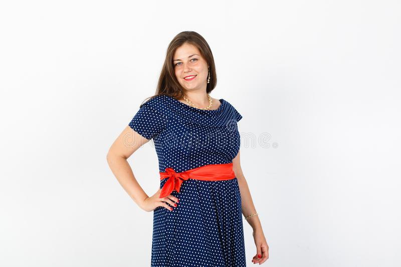 Mollige Junge Frau Stockbild Bild Von Liebe Fashion