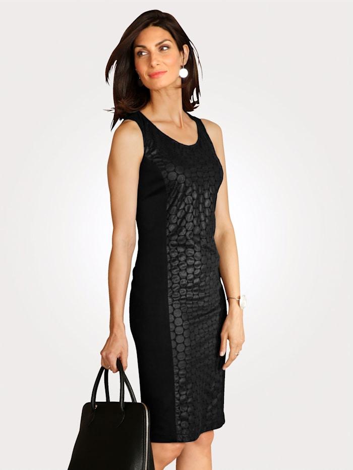 Mona Kleid Aus Lederimitat   Klingel