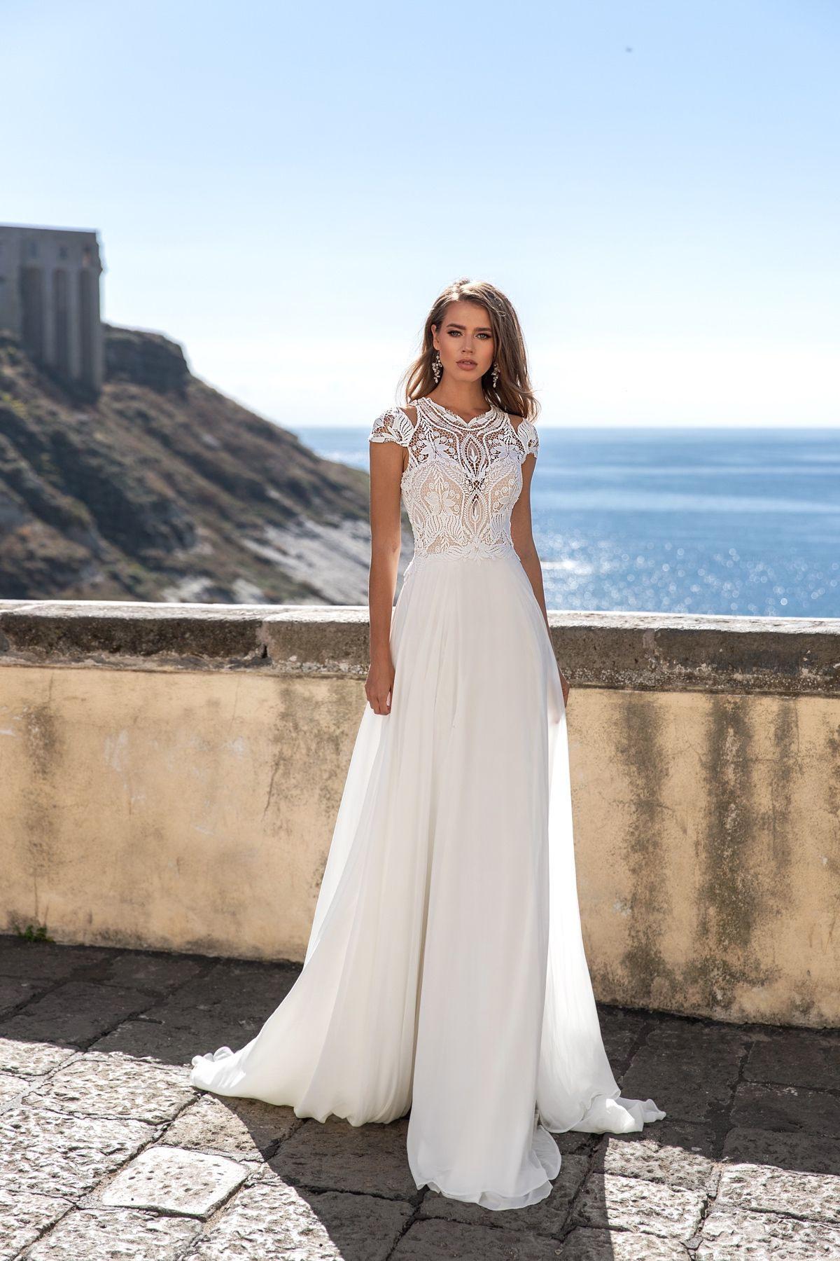 Monica Loretti  Style 8119  Brautmode Hochzeitskleid