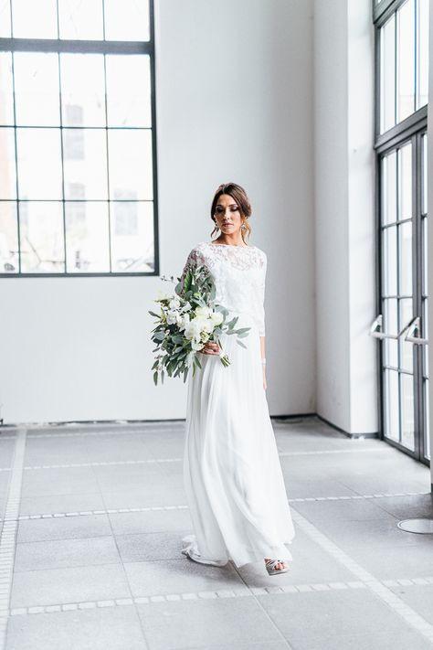 Monocrome Inspiration Minimalistic Wedding Photography