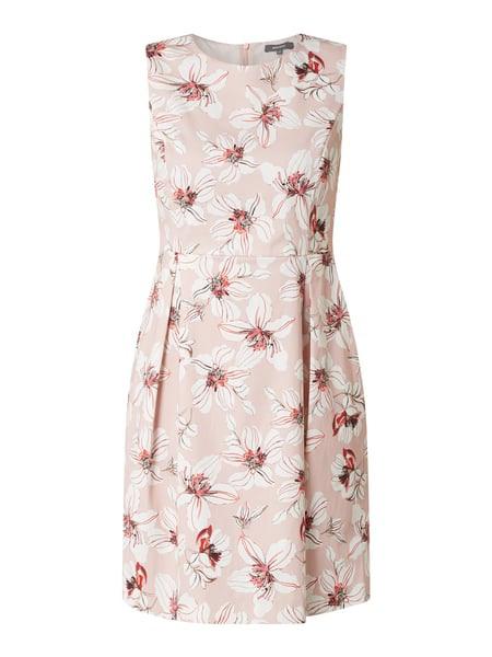 Montego Kleid Mit Floralem Muster In Rosé Online Kaufen