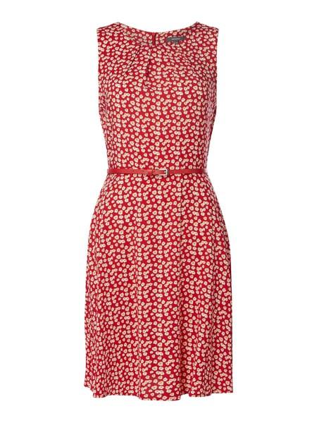 Montego Kleid Mit Floralem Muster In Rot Online Kaufen