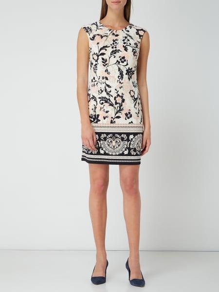 Montego Kleid Mit Floralem Muster In Weiß Online Kaufen
