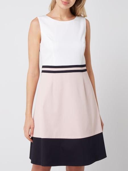 Montego Kleid Mit Zierstreifen In Rosé Online Kaufen