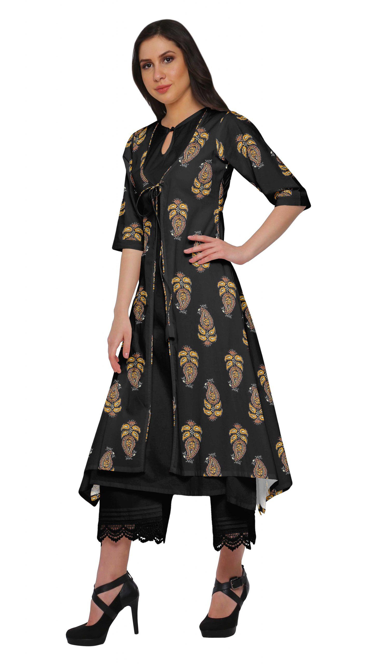 Moomaya 3 Stück Indische Kleidung Für Frauen Chanderi