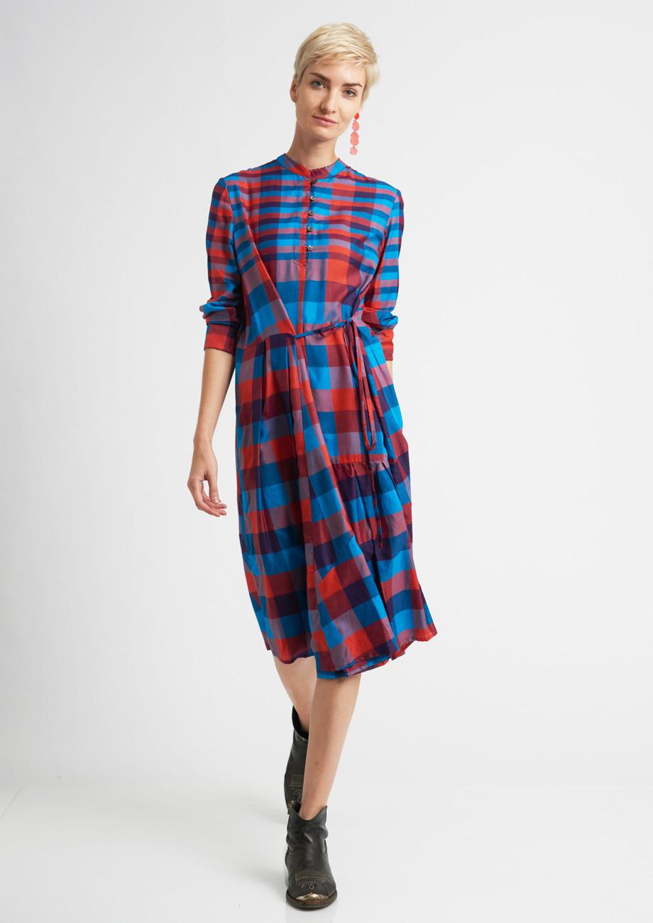 Multi Look Kleid  Karo  An An Londree