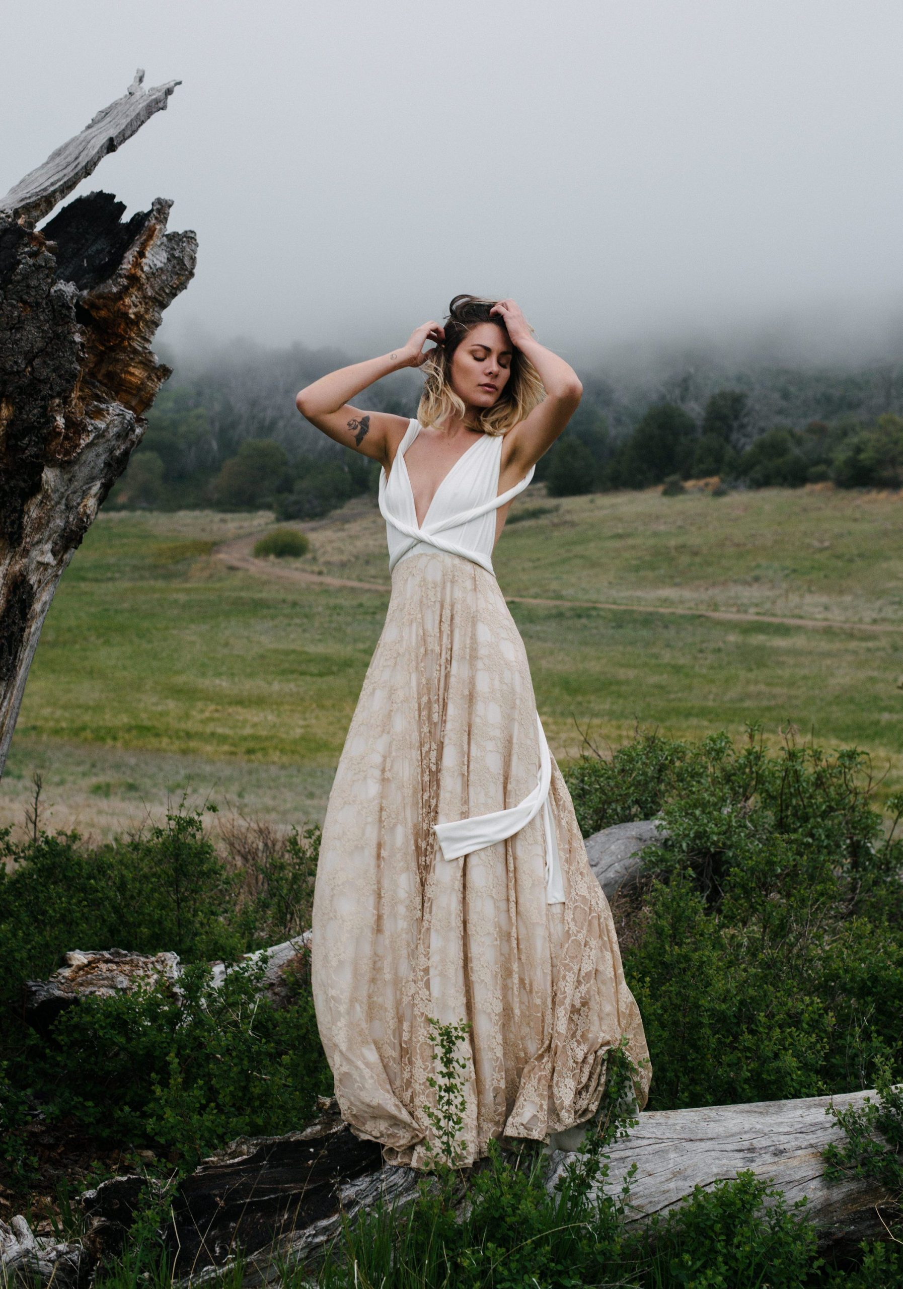Multi Way Wedding Dress With Lace Multi Way Dress With