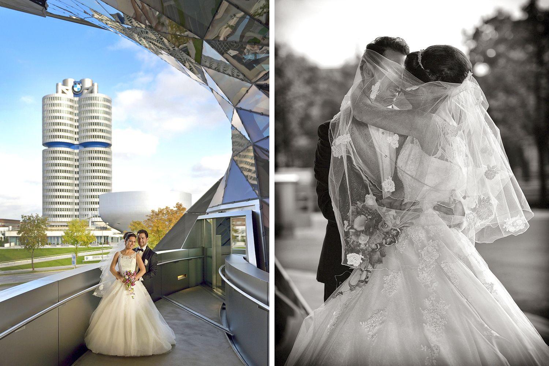 Munich Bmwwelt  Hochzeit Bmw