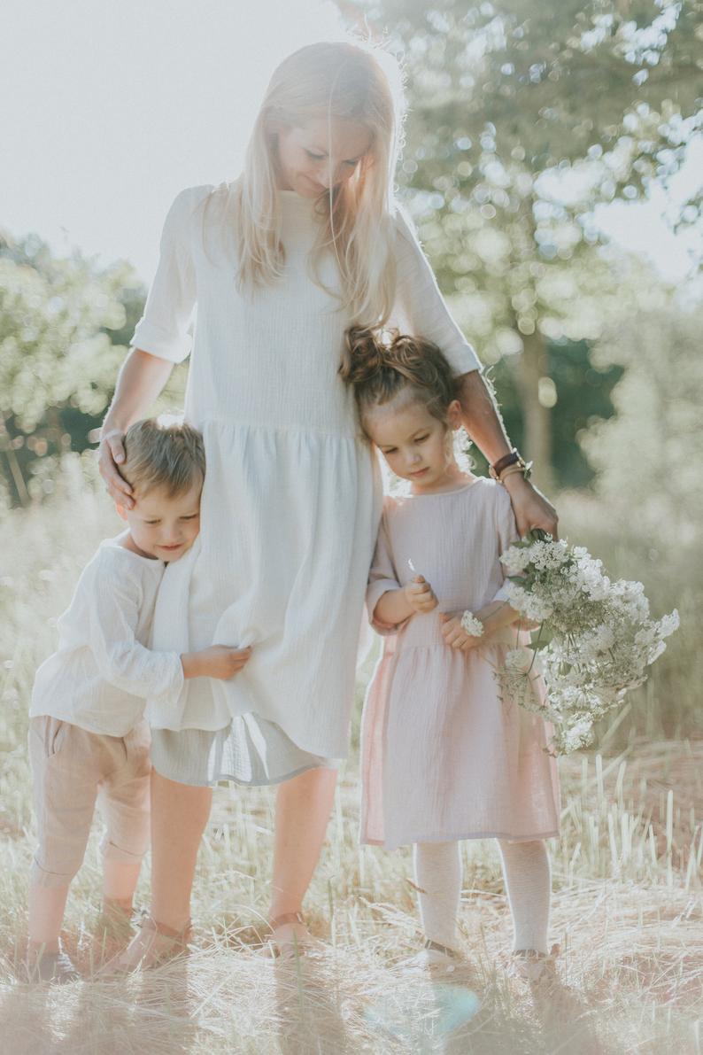 Mutter Tochter Passende Kleid Mutter Und Tochter Passende