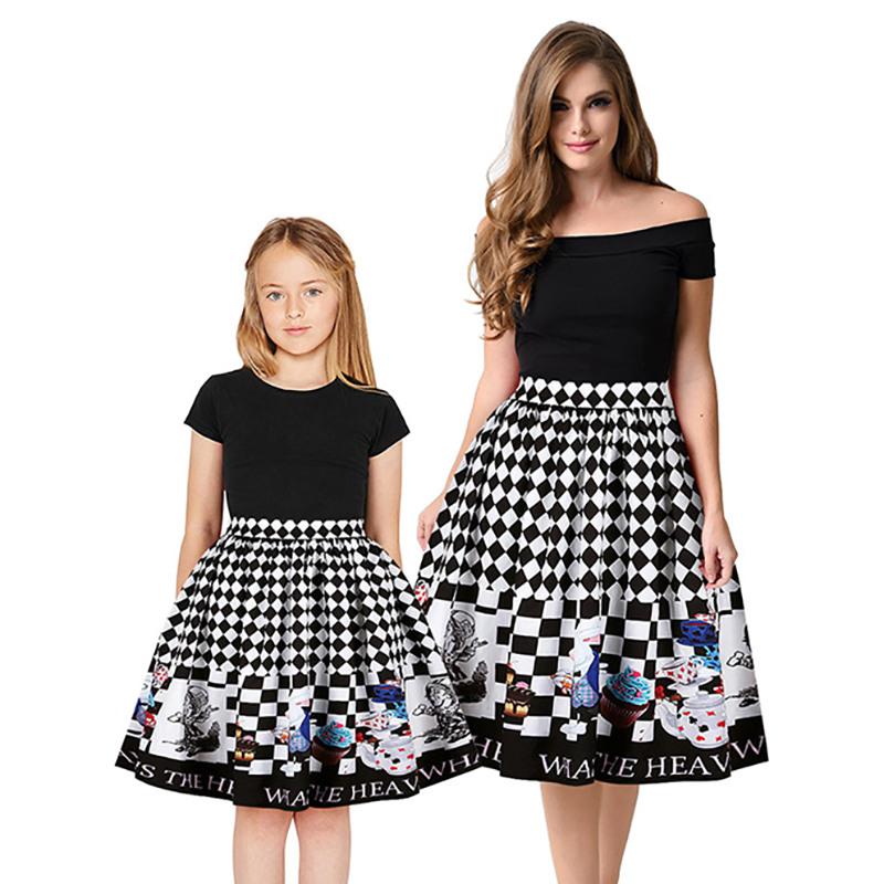 Mutter Und Tochter Röcke Kleider Für Mutter  Tochter