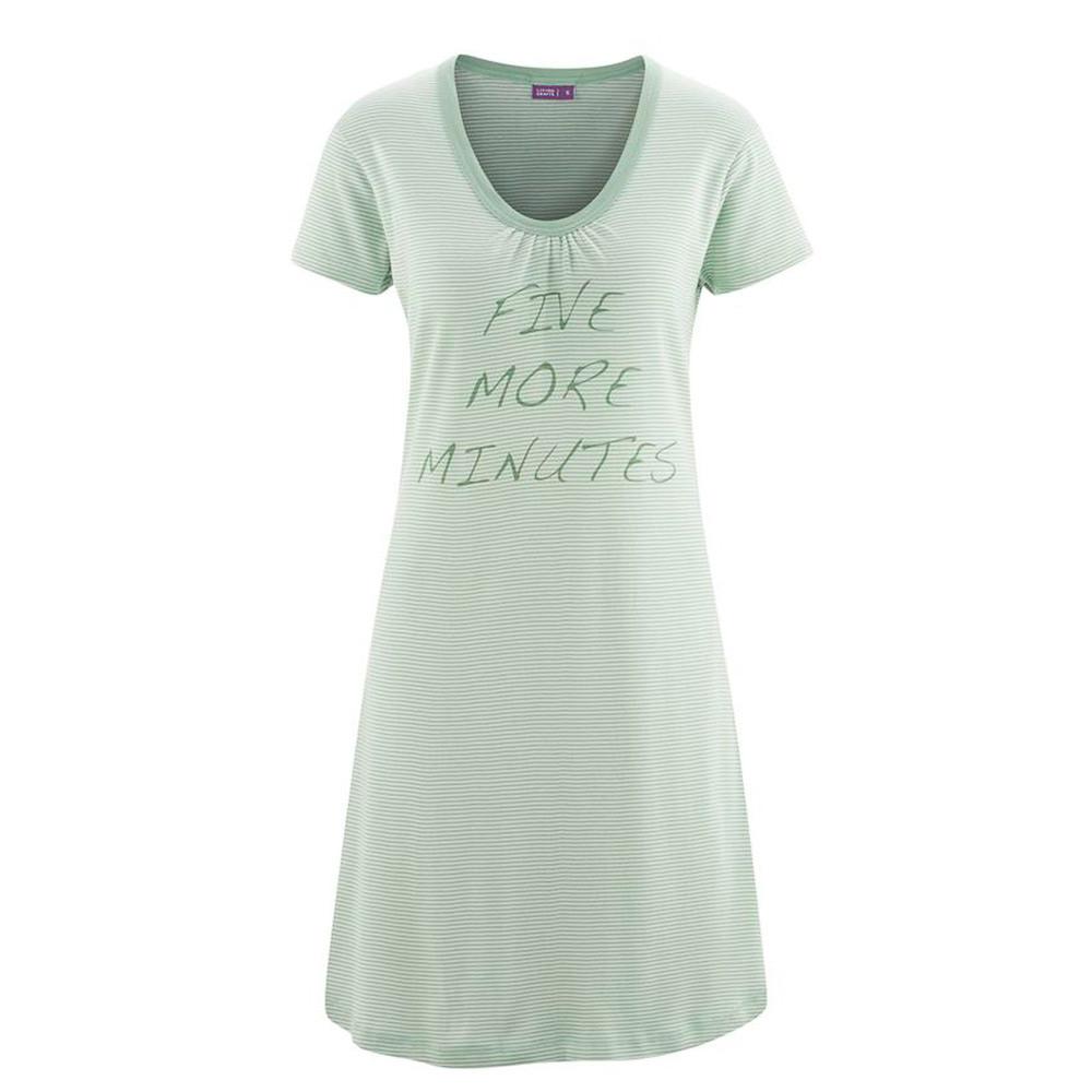 Nachtwäsche Living Crafts Damen Nachthemd Biobaumwolle
