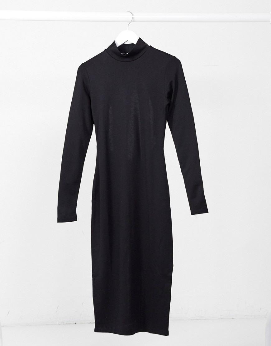 Nakd  Langärmliges Midibodyconkleid Mit Zierausschnitt