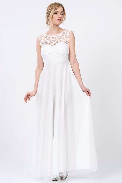 Neu Langes Kleid Maxikleid Schwarzes Kleid Weißes Kleid