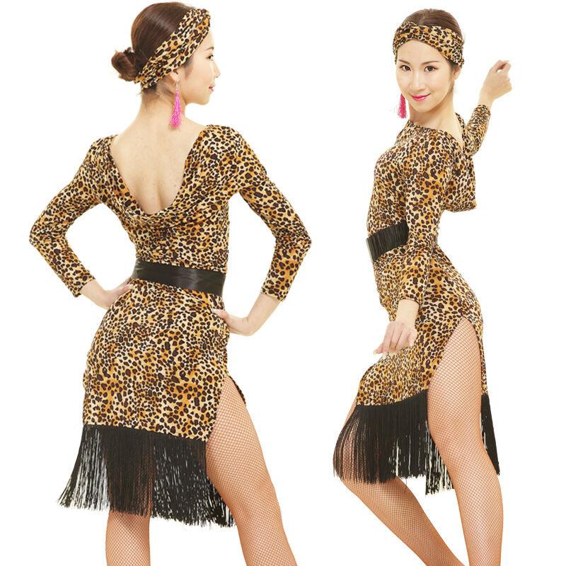 Neu Latino Salsa Kleid Tanzkleid Latinakleid Latein Kleid