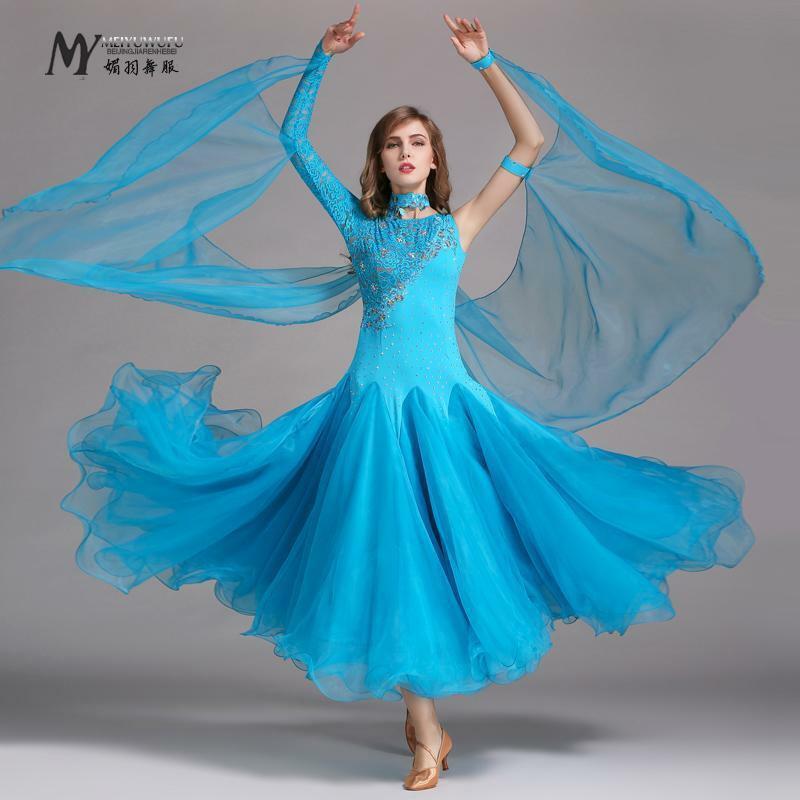 Neu Latino Salsa Kleid Tanzkleid Standard Latinakleid