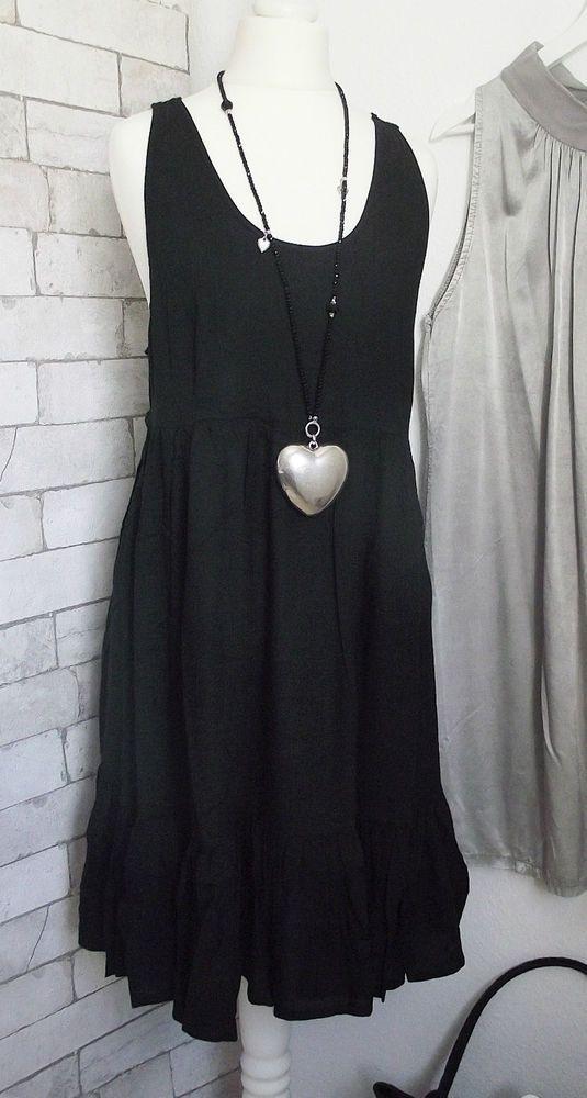 Neu Tamaris Kleid Häkelspitze Schwarz Gr 34 Oder 36