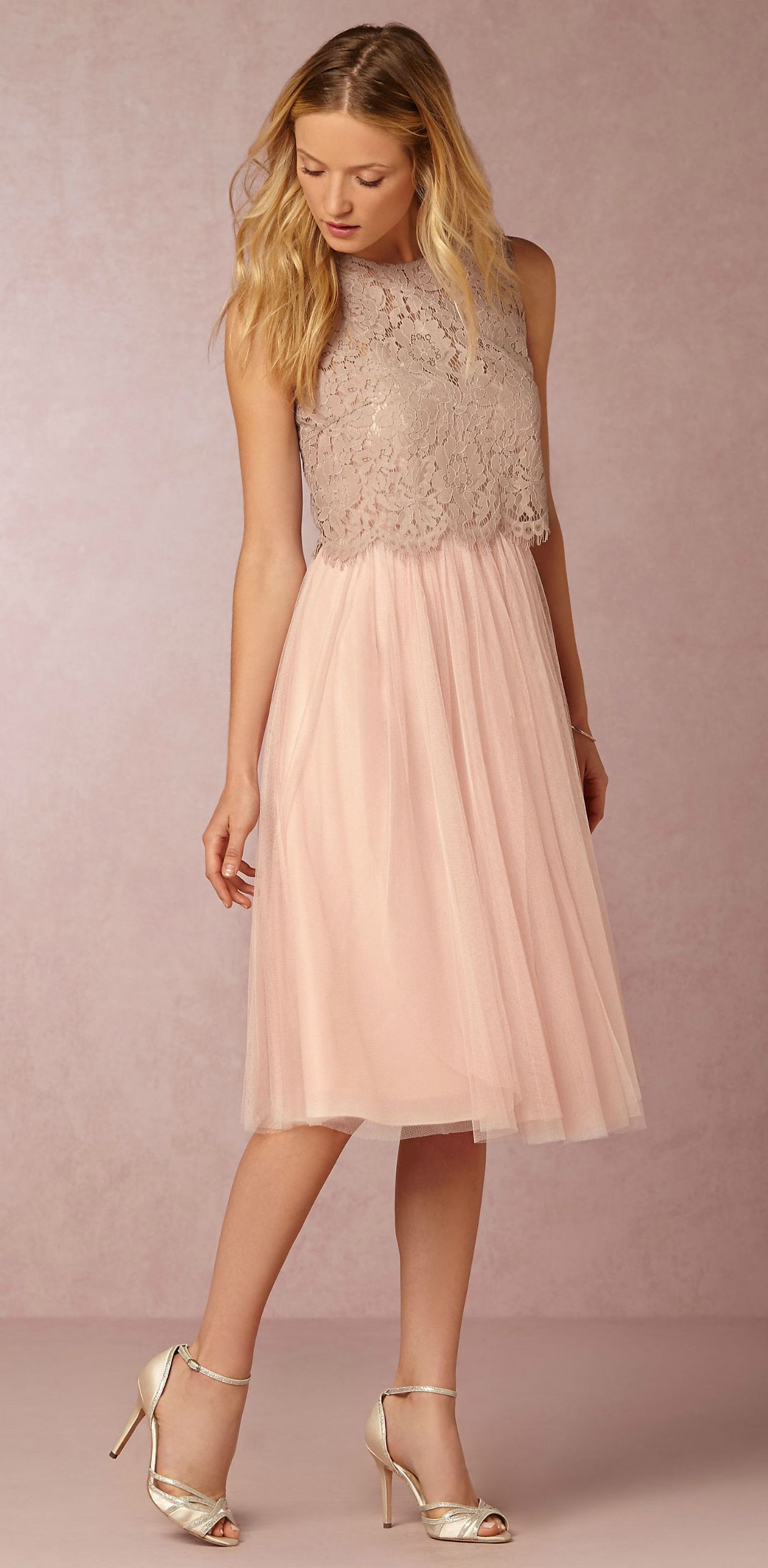 New Bridesmaid Dresses  Cleo Lace Top And Maia Dress