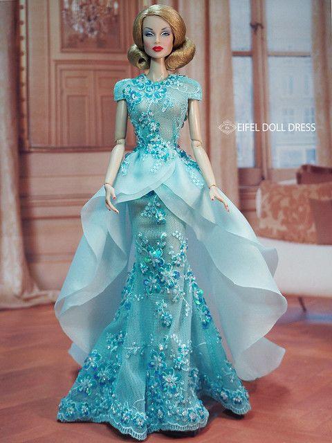 New Dress For Sell Efdd In 2020  Schöne Kleider Barbie