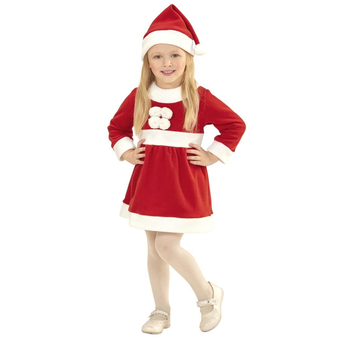 Niedliches Weihnachtskostüm Für Kinder Rotweiß 98 1  2