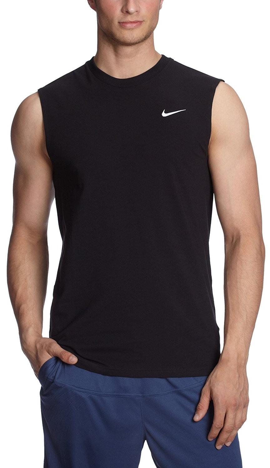Nike  Nike Men's Ad Sleeveless Tshirtblack  Walmart