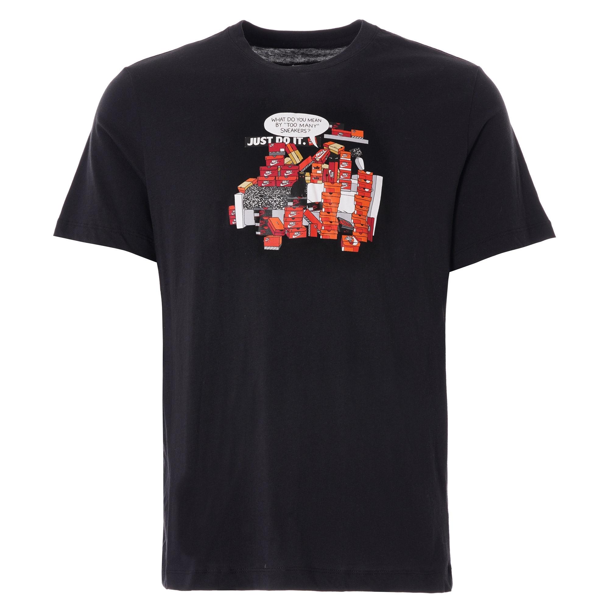 Nike Sneaker Culture Tshirt  Black  Ck2661010