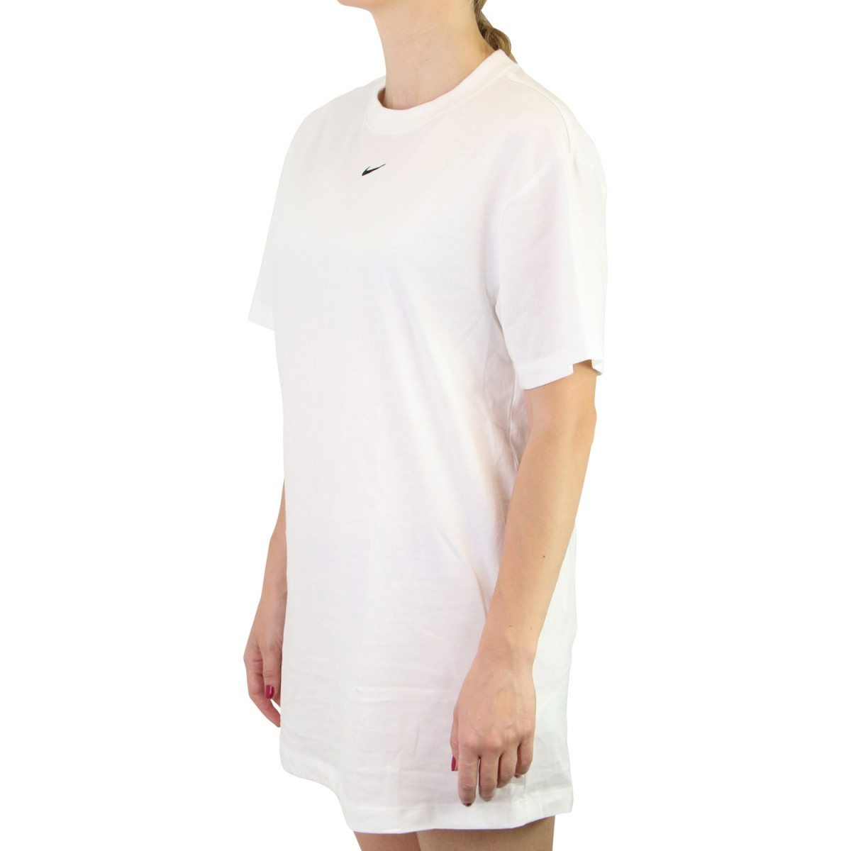Nike Sportswear Essential Kleid Weiß  Ruga