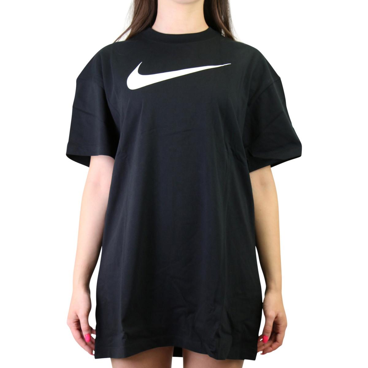 Nike Sportswear Swoosh Kleid Schwarz  Ruga