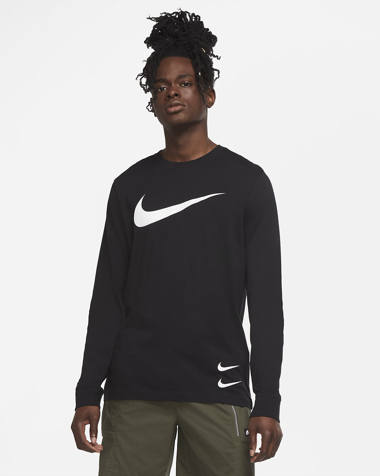 Nike Sportswear Swoosh Men's Longsleeve Tshirt Nike