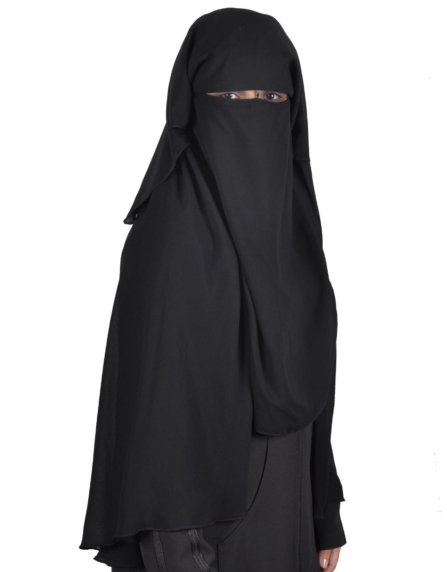 Niqab Schwarz Hijab Online Kaufen Egypt Bazar Shop