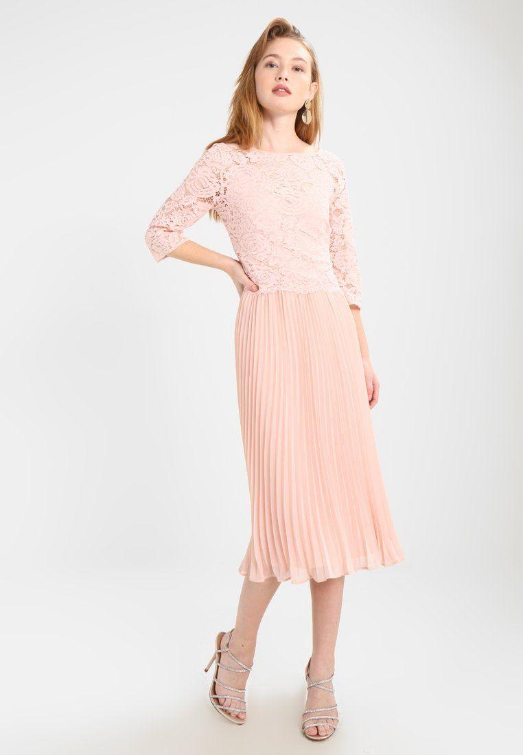 Oasis Ellie 3/4 Sleeve Pleated Midi Dress  Cocktailkleid
