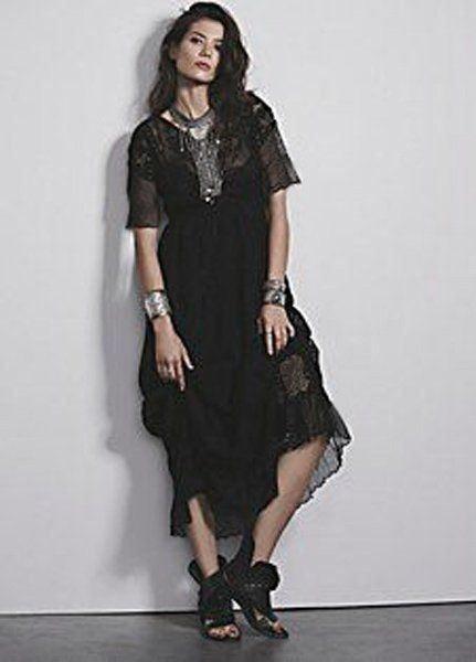 Odd Molly Luxus Seidenkleid Bestickt Neu Kaufen Auf Ricardo