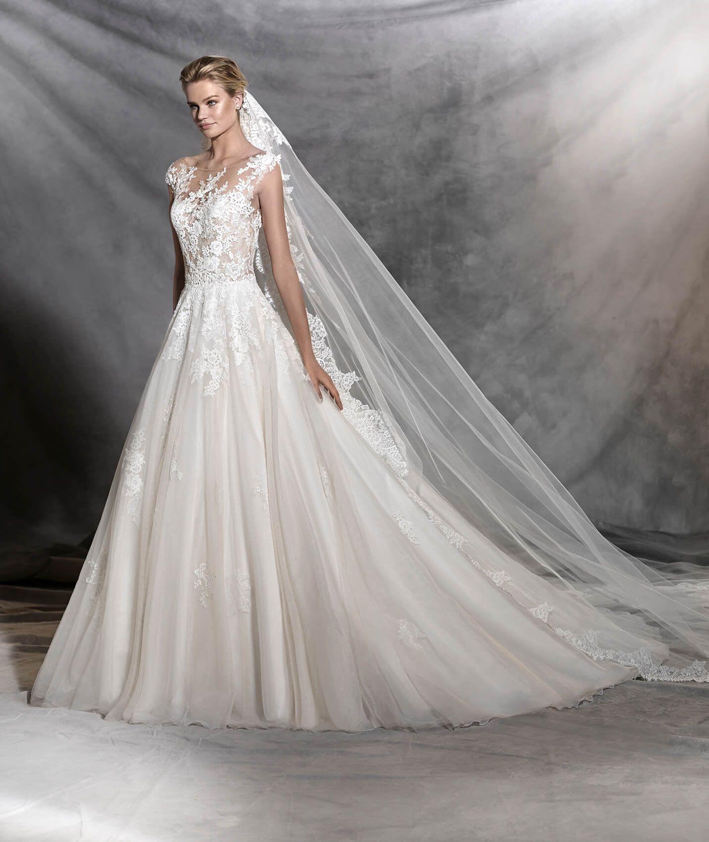 Ofelia  Princess Style Wedding Dress  Pronovias