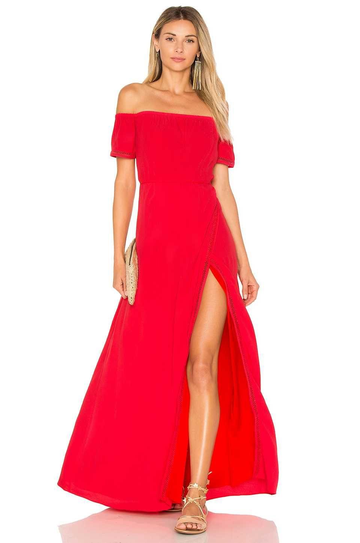 Offshoulder Kleid 2018 Abendkleider Lang Damenmode