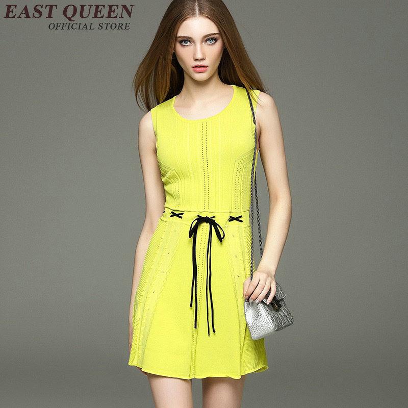 Online Kaufen Großhandel Gelb Sommerkleid Aus China Gelb