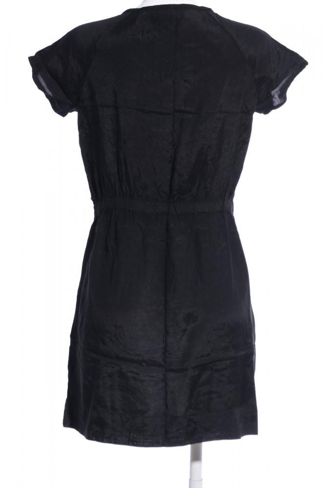 Only Blusenkleid Schwarz Casuallook Damen Gr De 36 Kleid
